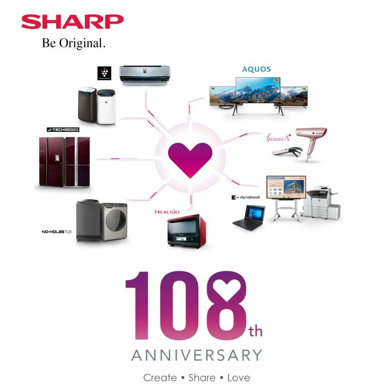Sharp 108 anniversary